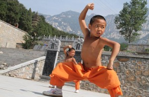 stage kungfu chine