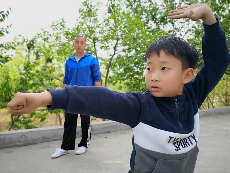 enfants kung fu