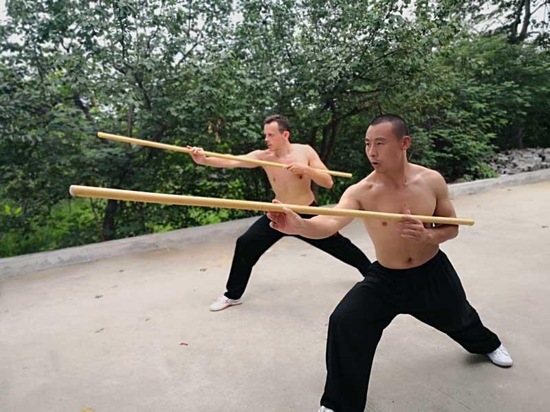 apprendre baton kung fu