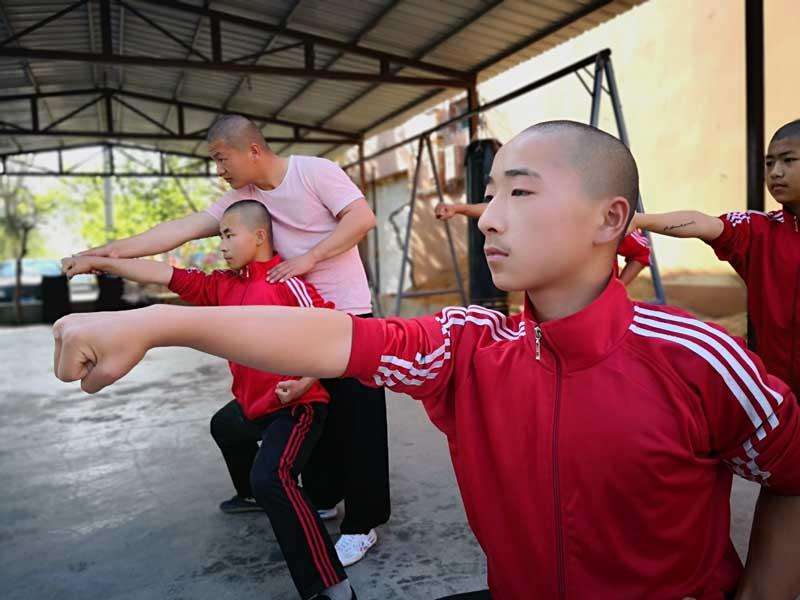chinois kung fu