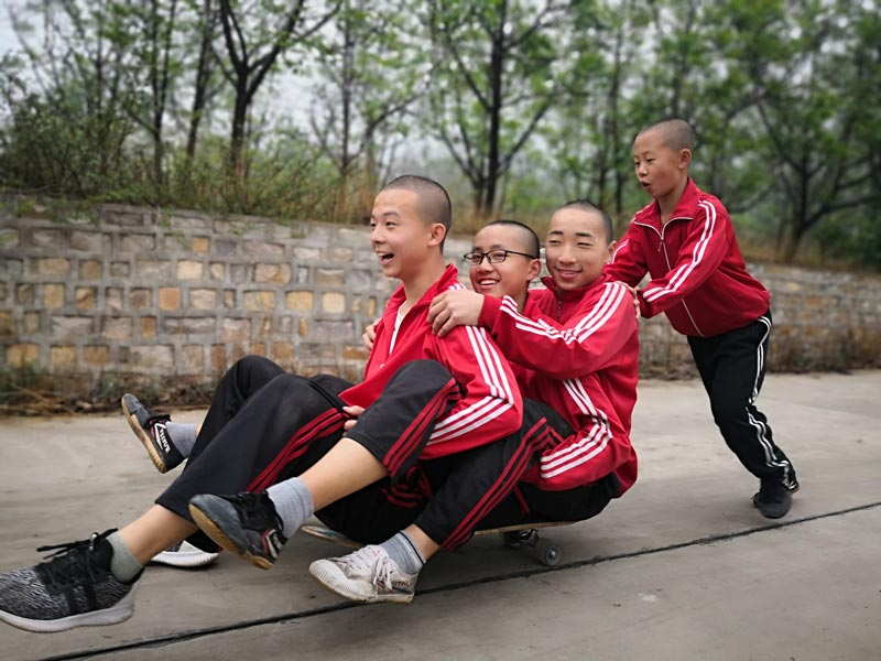eleves kung fu