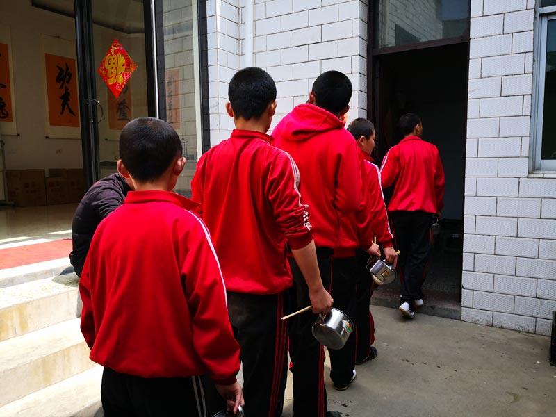 école kung fu déjeuner