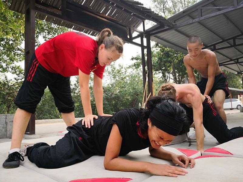 reglement kung fu entrainements